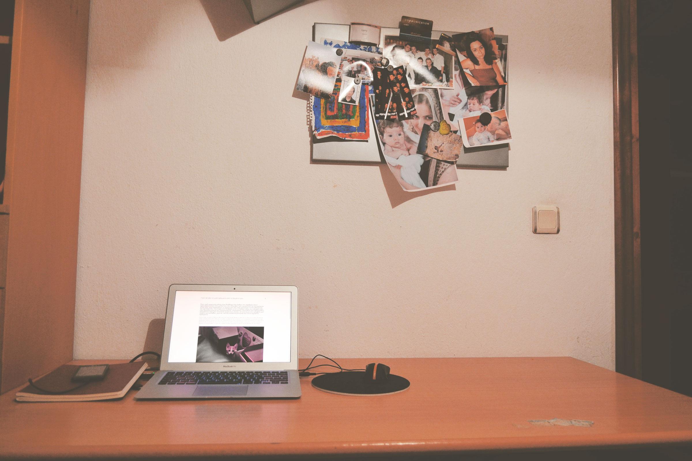 My minimal desk